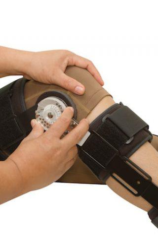 knee and leg brace