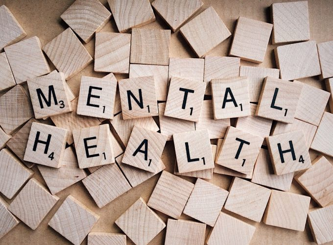 mental health spelled out on wooden pieces
